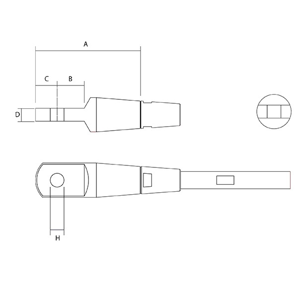 Spade F33 Fitting