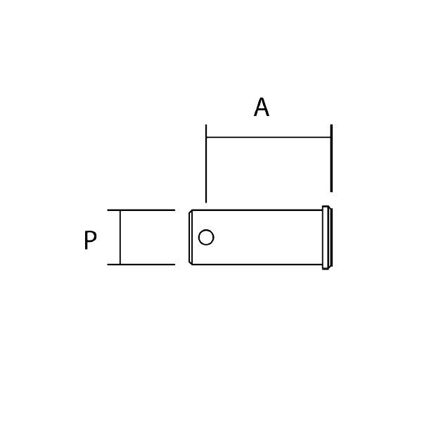 Toggle Pin Dimensions