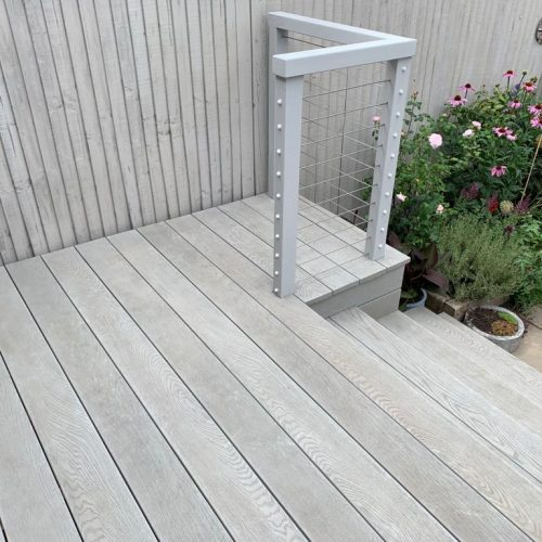 Decking stainless steel cables