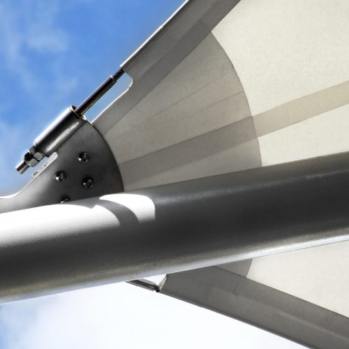 tensile structure close up